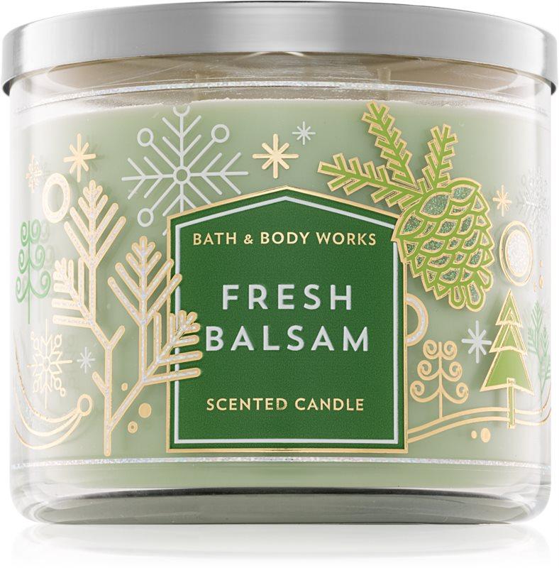 Bath & Body Works Fresh Balsam Geurkaars 411 gr III.