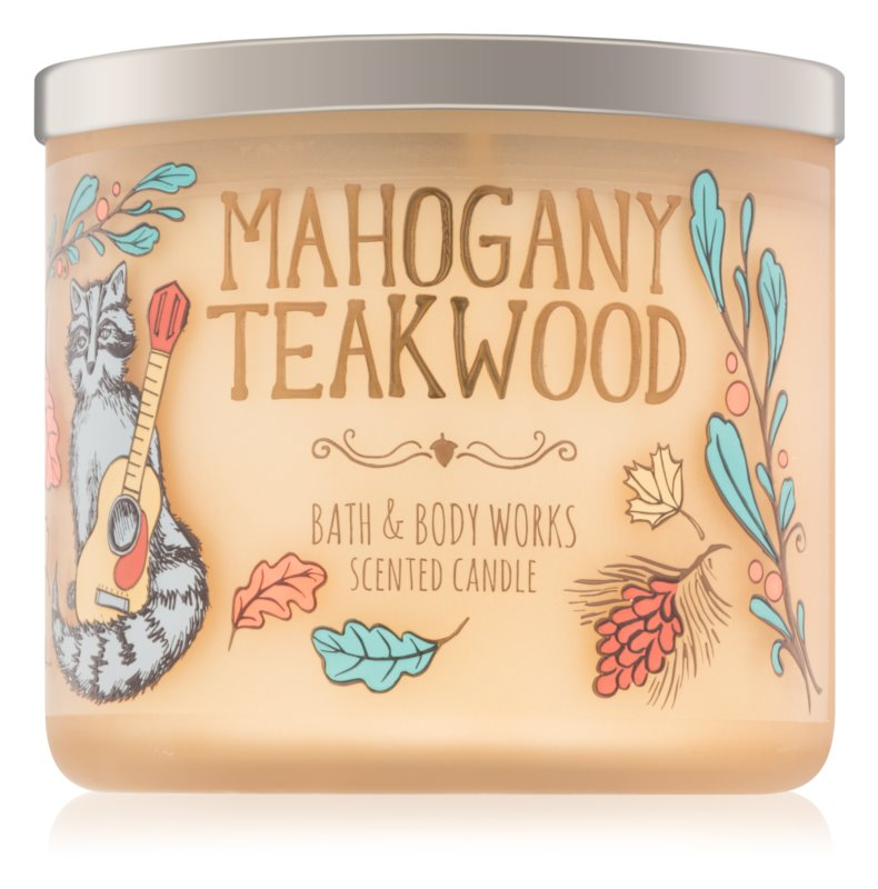 Bath & Body Works Mahogany Teakwood vonná sviečka 411 g IV.