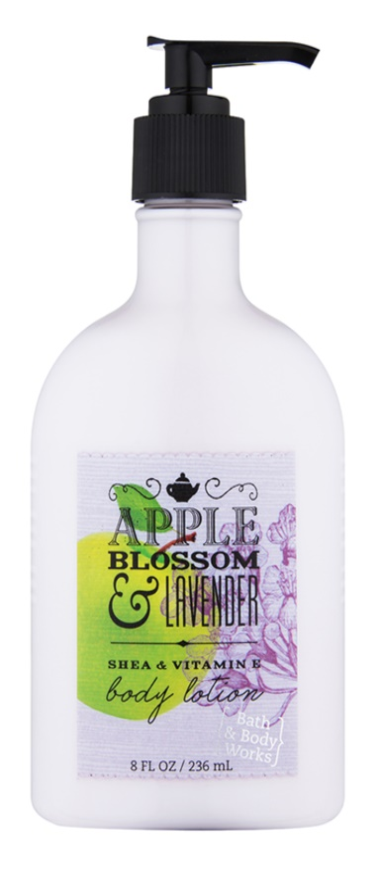 Bath & Body Works Apple Blossom & Lavender Körperlotion für Damen 236 ml