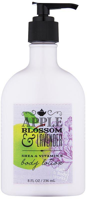 Bath & Body Works Apple Blossom & Lavender losjon za telo za ženske 236 ml