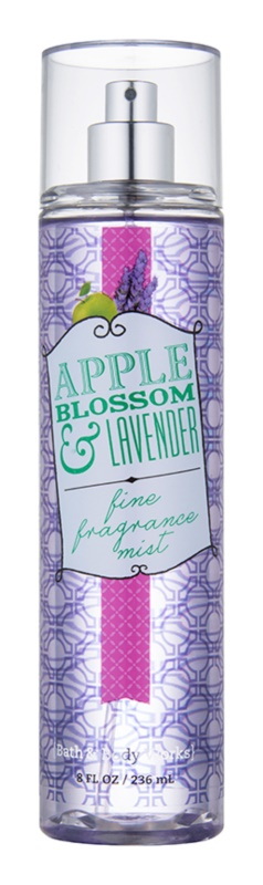 Bath & Body Works Apple Blossom & Lavender Körperspray für Damen 236 ml