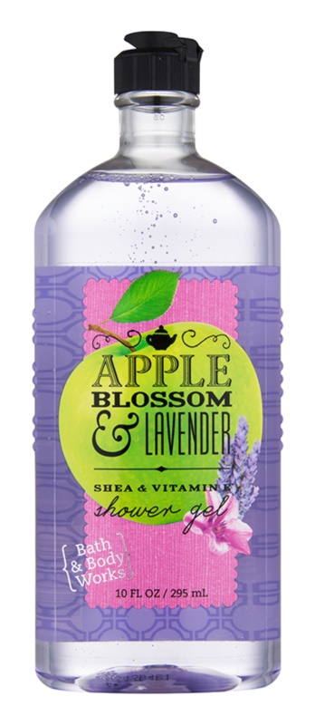 Bath & Body Works Apple Blossom & Lavender gel de dus pentru femei 295 ml