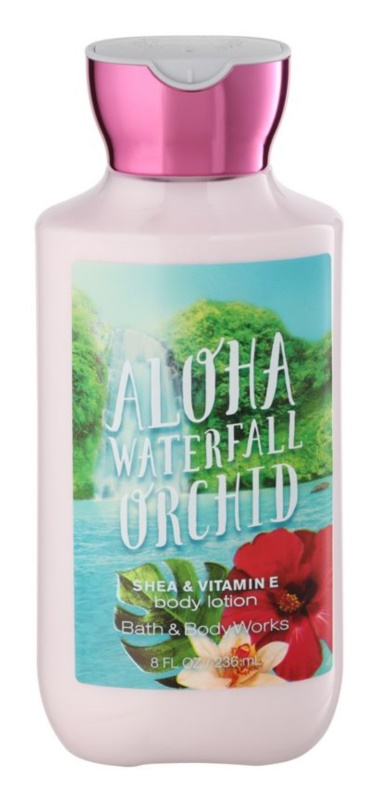 Bath & Body Works Aloha Waterfall Orchid leite corporal para mulheres 236 ml