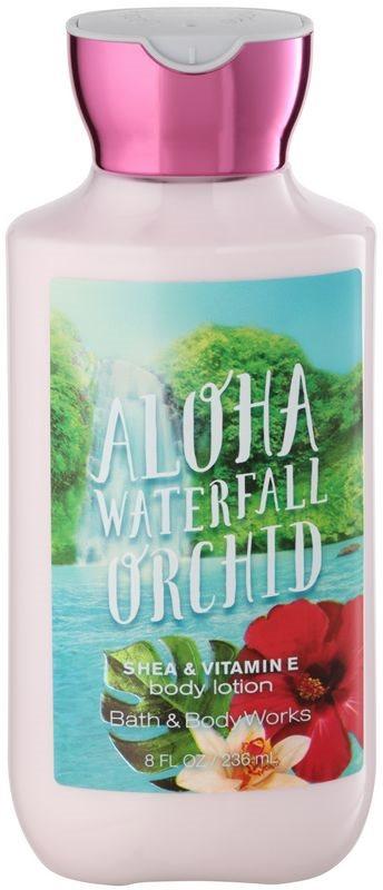 Bath & Body Works Aloha Waterfall Orchid telové mlieko pre ženy 236 ml