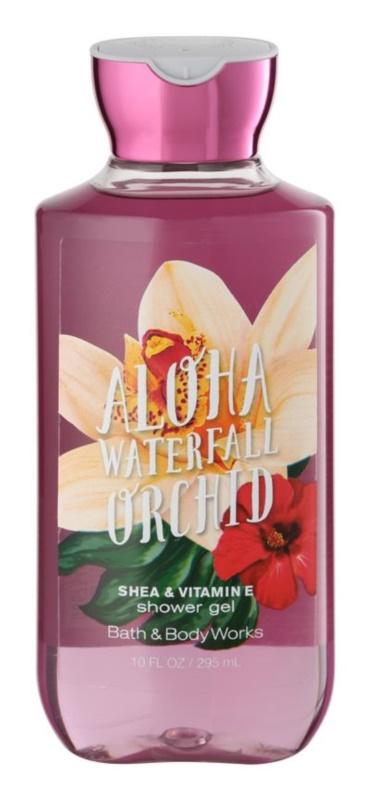 Bath & Body Works Aloha Waterfall Orchid gel doccia per donna 295 ml