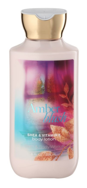 Bath & Body Works Amber Blush leche corporal para mujer 236 ml