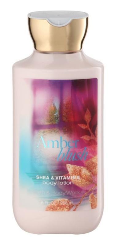 Bath & Body Works Amber Blush tělové mléko pro ženy 236 ml