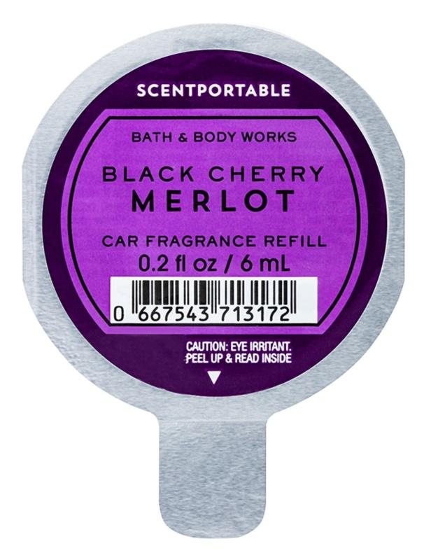 Bath & Body Works Black Cherry Merlot Autoduft 6 ml Ersatzfüllung