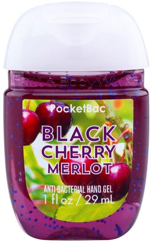 Bath & Body Works PocketBac Black Cherry Merlot antibakterielles Gel für die Hände