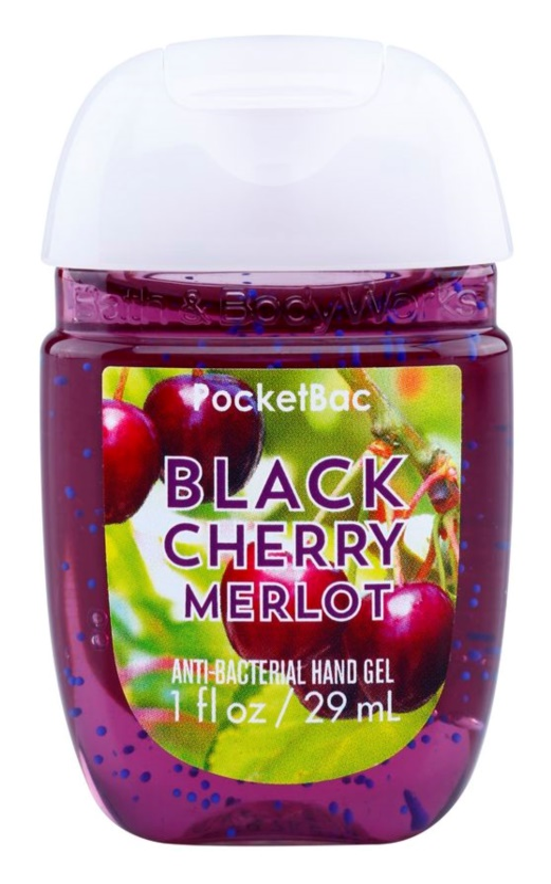 Bath & Body Works PocketBac Black Cherry Merlot gel mains