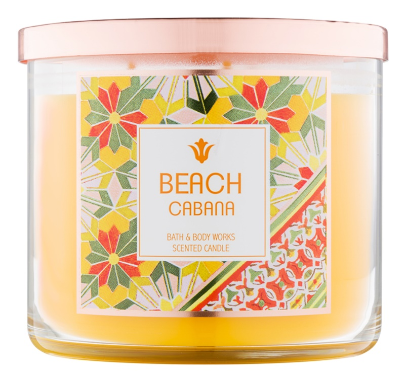 Bath & Body Works Beach Cabana illatos gyertya  411 g