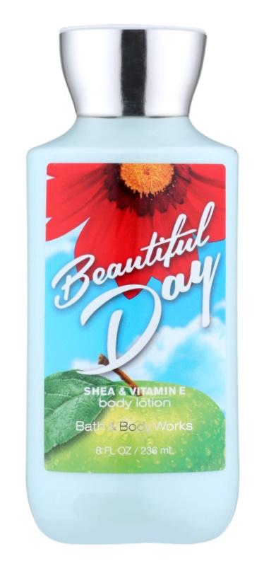 Bath & Body Works Beautiful Day tělové mléko pro ženy 236 ml
