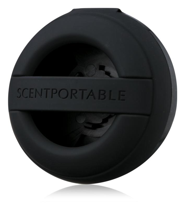 Bath & Body Works Black Rubber support désodorisant pour voiture   clip