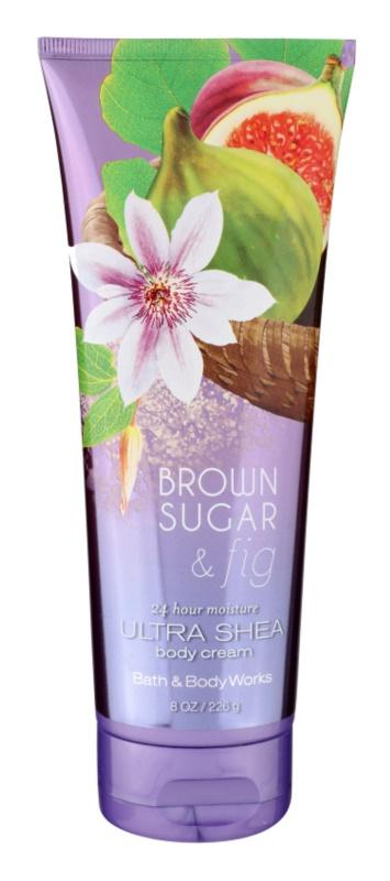 Bath & Body Works Brown Sugar and Fig Bodycrème voor Vrouwen  236 ml