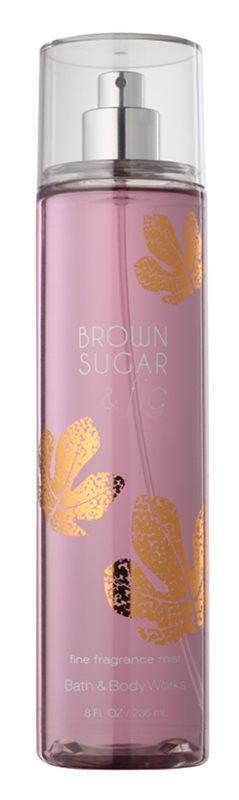 Bath & Body Works Brown Sugar and Fig tělový sprej pro ženy 236 ml