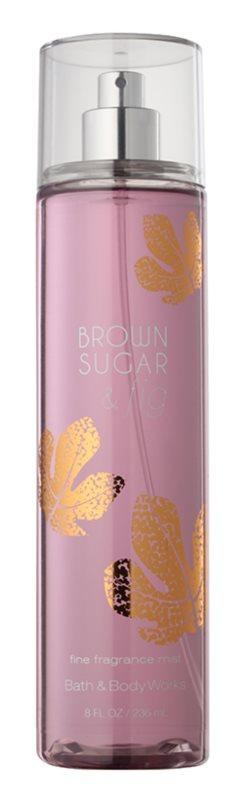 Bath & Body Works Brown Sugar and Fig tělový sprej pro ženy 236 ml