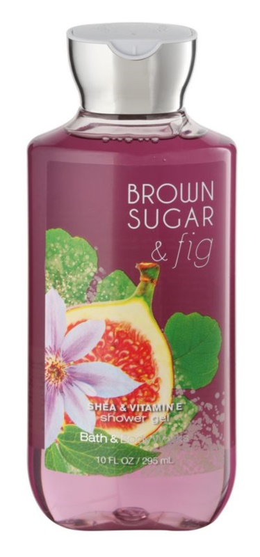 Bath & Body Works Brown Sugar and Fig sprchový gel pro ženy 295 ml