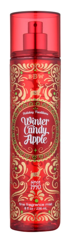 Bath & Body Works Winter Candy Apple spray corpo per donna 236 ml