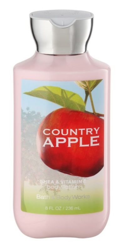 Bath & Body Works Country Apple Bodylotion  voor Vrouwen  236 ml