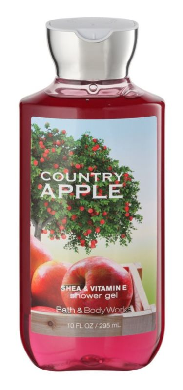 Bath & Body Works Country Apple żel pod prysznic dla kobiet 295 ml