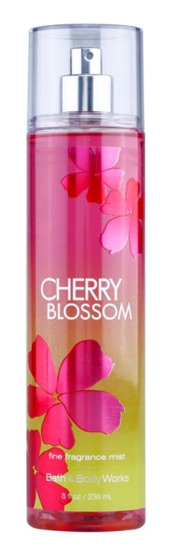 Bath & Body Works Cherry Blossom Bodyspray  voor Vrouwen  236 ml