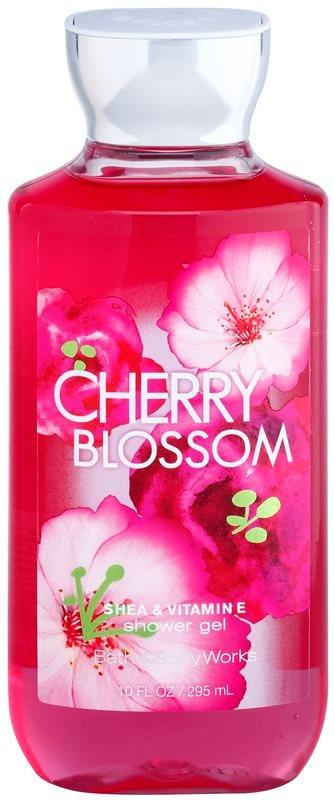 Bath & Body Works Cherry Blossom sprchový gel pro ženy 295 ml