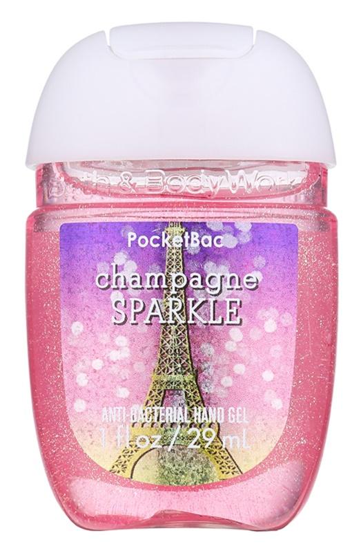 Bath & Body Works PocketBac Champagne Sparkle gel  para as mãos