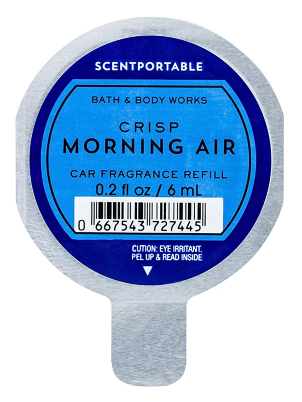 Bath & Body Works Crisp Morning Air Car Air Freshener 6 ml Refill