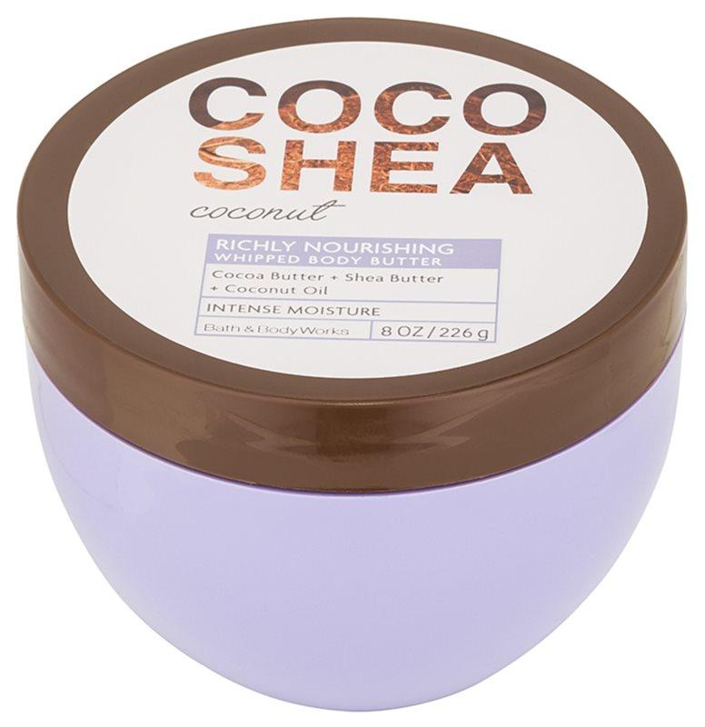 Bath & Body Works Cocoshea Coconut masło do ciała dla kobiet 226 g