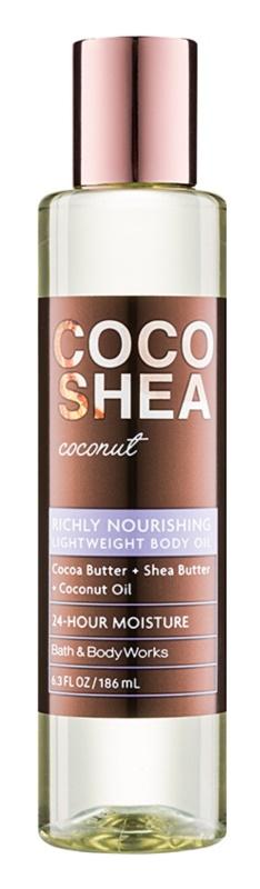 Bath & Body Works Cocoshea Coconut tělový olej pro ženy 186 ml