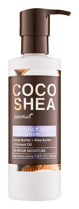 Bath & Body Works Cocoshea Coconut lotion corps pour femme 230 ml