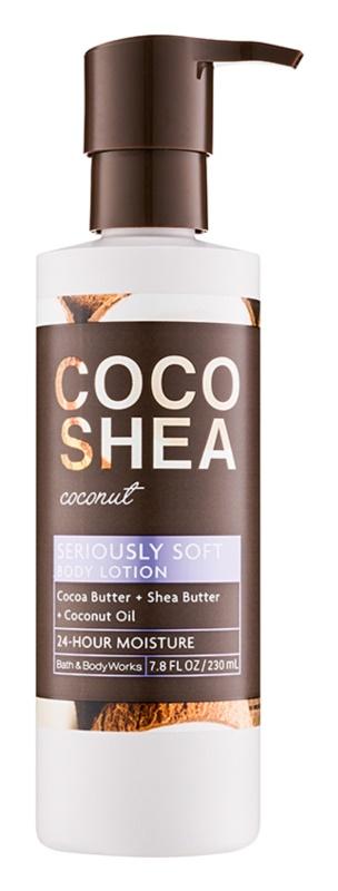 Bath & Body Works Cocoshea Coconut tělové mléko pro ženy 230 ml