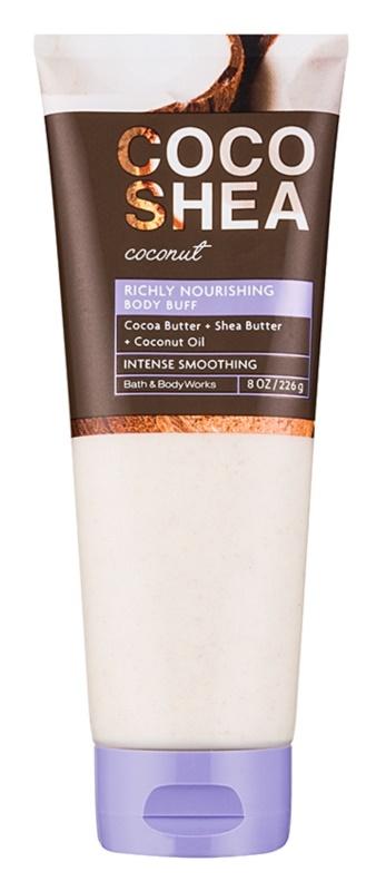 Bath & Body Works Cocoshea Coconut exfoliant de corp pentru femei 226 g