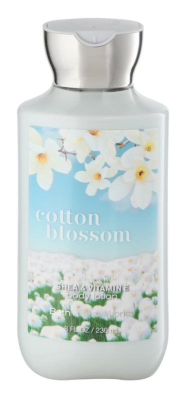 Bath & Body Works Cotton Blossom Körperlotion Damen 236 ml