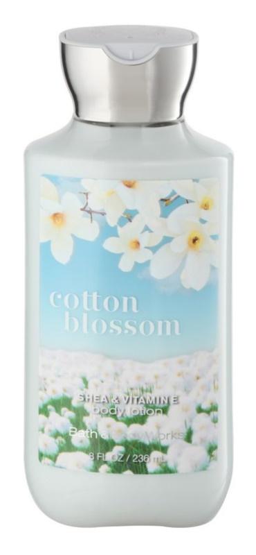 Bath & Body Works Cotton Blossom lapte de corp pentru femei 236 ml