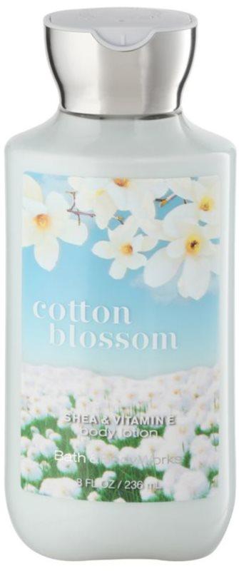 Bath & Body Works Cotton Blossom tělové mléko pro ženy 236 ml
