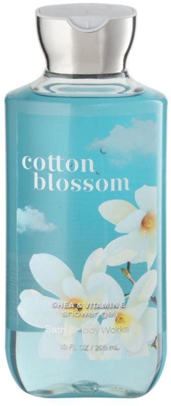 Bath & Body Works Cotton Blossom gel de dus pentru femei 295 ml