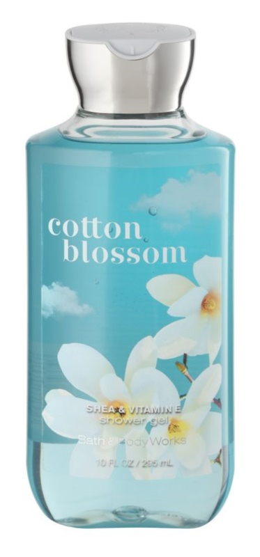 Bath & Body Works Cotton Blossom gel doccia per donna 295 ml