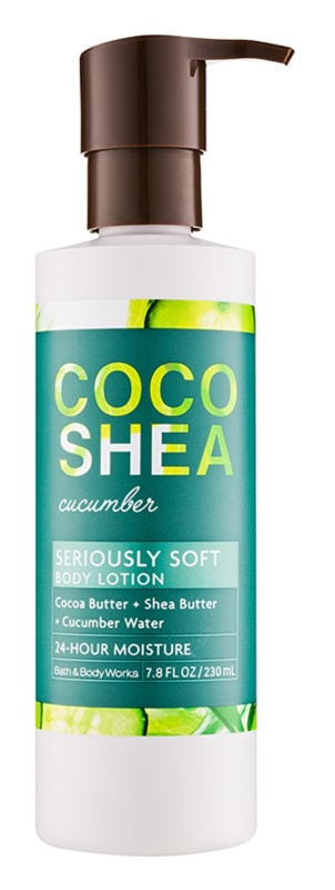 Bath & Body Works Cocoshea Cucumber Body Lotion for Women 230 ml
