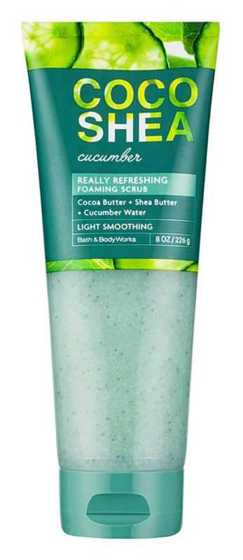 Bath & Body Works Cocoshea Cucumber testpeeling nőknek 226 g
