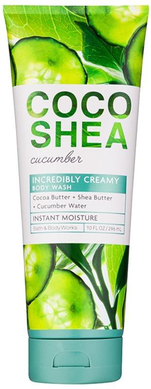 Bath & Body Works Cocoshea Cucumber żel pod prysznic dla kobiet 296 ml