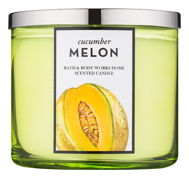 Bath & Body Works Cucumber Melon dišeča sveča  411 g