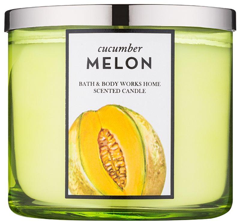 Bath & Body Works Cucumber Melon vela perfumado 411 g