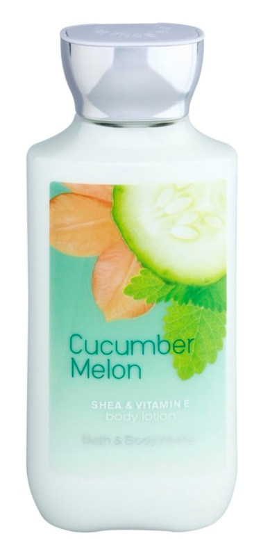 Bath & Body Works Cucumber Melon latte corpo per donna 236 ml