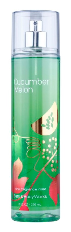 Bath & Body Works Cucumber Melon spray corporel pour femme 236 ml