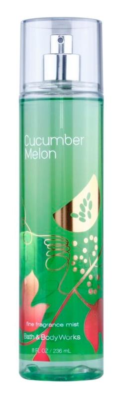 Bath & Body Works Cucumber Melon telový sprej pre ženy 236 ml