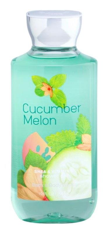 Bath & Body Works Cucumber Melon Duschgel für Damen 295 ml