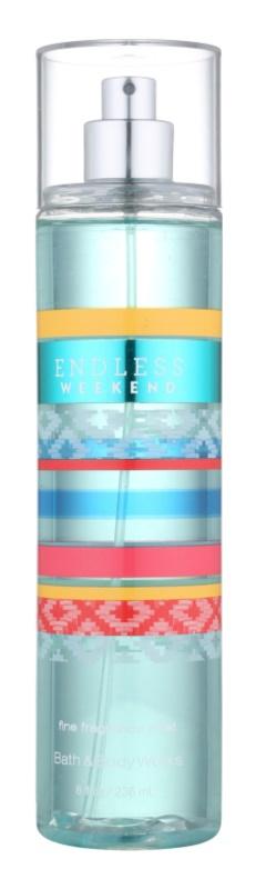 Bath & Body Works Endless Weekend pršilo za telo za ženske 236 ml