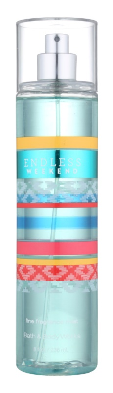 Bath & Body Works Endless Weekend spray corporal para mujer 236 ml