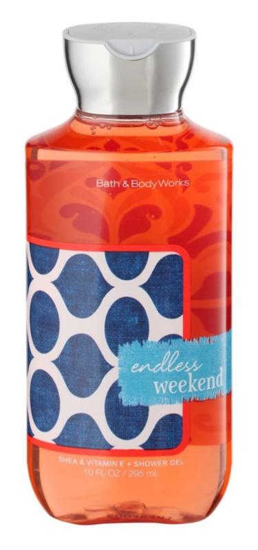 Bath & Body Works Endless Weekend Douchegel voor Vrouwen  295 ml